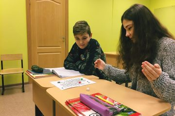 Английский для детей Воронеж Verbis