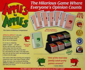 Apples to apples настольная игра
